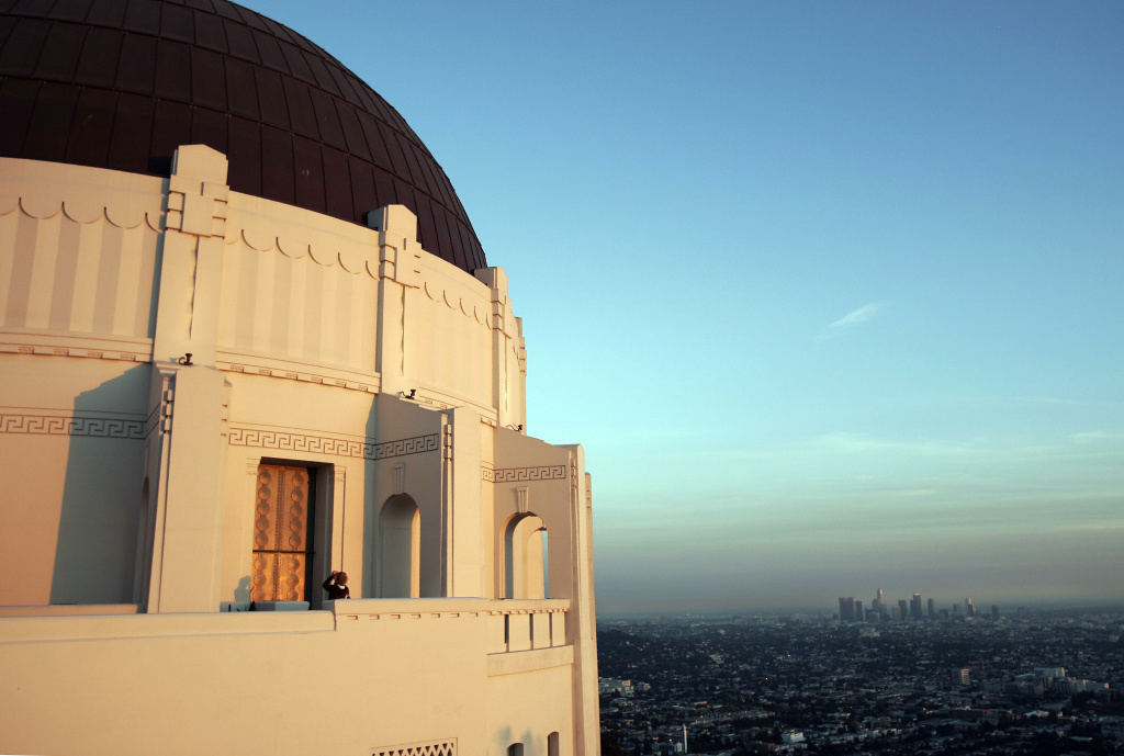 Griffith Observatory, Los Angeles. Nov. 2, 2006