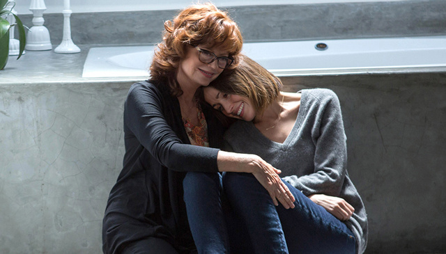 Susan Sarandon, left, and Rose Byrne play mother-and-daughter in