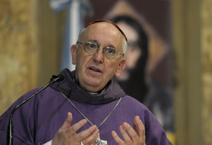 ARGENTINA-ASH WEDNESDAY-BERGOGLIO