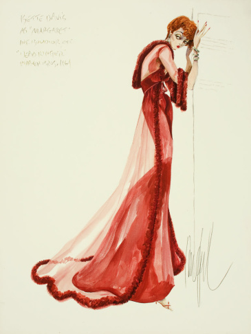 Costume design sketch from