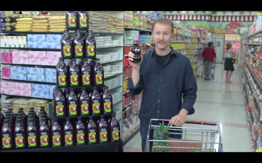 Morgan Spurlock tells audiences to drink POM Wonderful in his recent documentary