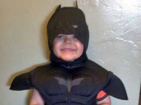 The 5-year-old Make-A-Wish kid Miles, who's set to get his wish to become Batkid as the Make-A-Wish Foundation turns San Francisco into Gotham City for a day.