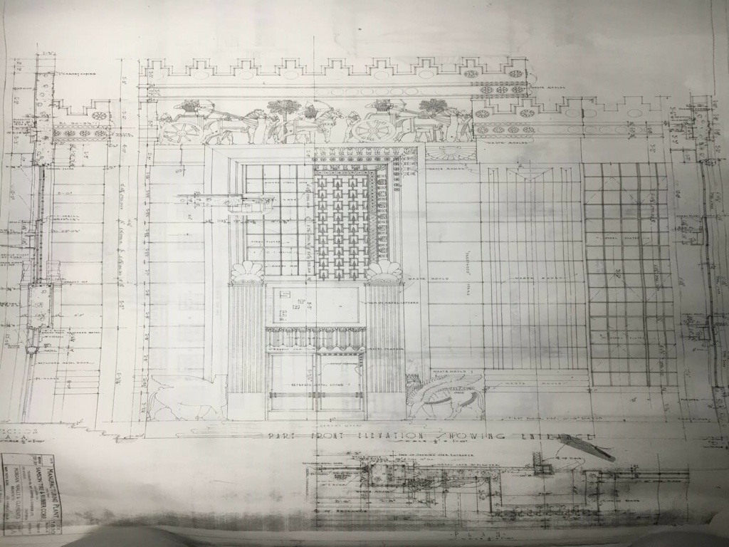The Citadel's director of architecture, Louis Troiani, said the building's original 1929 construction was based off just five drawings. Troiani says it would take about 500 sheets to explain the same building's construction today.