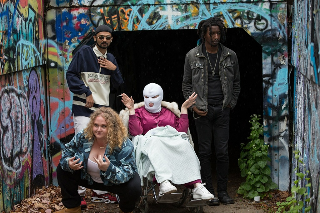 Siddharth Dhananjay, Danielle Macdonald, Cathy Moriarty and Mamoudou Athie in