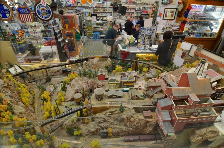 The Original Whistle Stop in Pasadena has been selling model trains since 1951.