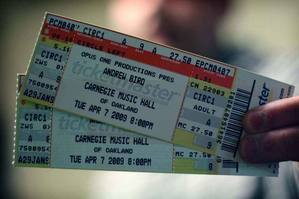 Ticketmaster Vouchers: How to Redeem Them