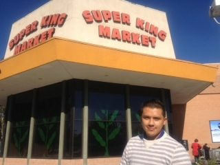 Super King Market employee Aaron Cortes says the 2 percent increase in the social security payroll tax will make it harder for him to save money for college tuition.