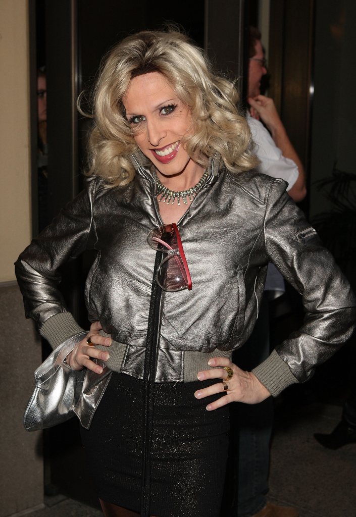 Actress Alexis Arquette arrives at the HBO premiere of
