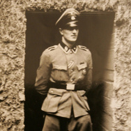 Rochus Misch, one of Adolf Hitler's bodyguards, in 1944. He died Thursday in Germany at the age of 96.