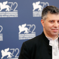 Director Evgeny Afineevsky attends a photocall for 'Winter On Fire' during the 72nd Venice Film Festival at Palazzo del Casino in Venice, Italy.