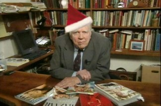 Andy Rooney, Christmas hater.
