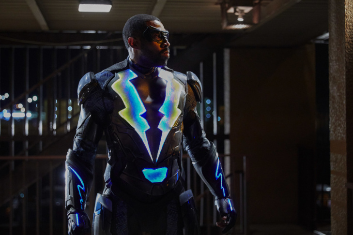 Cress Williams plays Jefferson Pierce in the CW series,