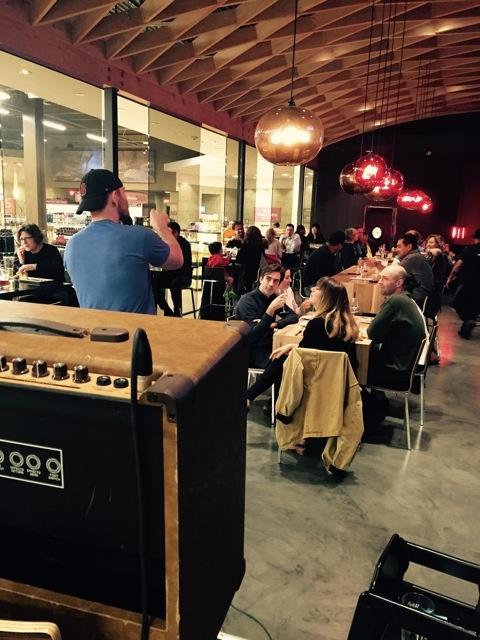 LA's comedy scene has spread to Whole Foods' 110 & Bellevue restaurant in Pasadena.