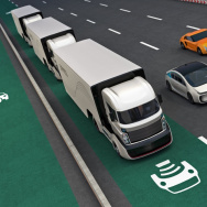To accommodate self-driving cars, California will need to replace the botts dots that separate lanes of traffic and also widen the lane lines from four inches to six inches so they are readable.