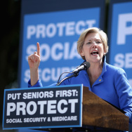 Democratic Leaders Address Rally In Support Of Social Security And Medicare