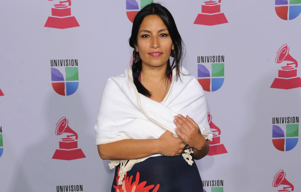 Musician Ana Tijoux arrives at the 13th annual Latin GRAMMY Awards held at the Mandalay Bay Events Center on November 15, 2012 in Las Vegas, Nevada.