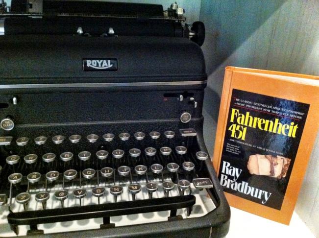 Soboroff Bradbury typewriter