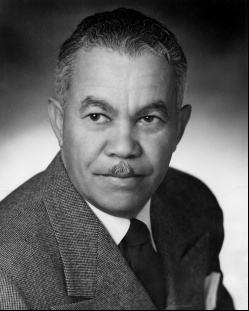 Paul Revere Williams, pictured here, was orphaned at the age of 4 and grew up in early Los Angeles' eclectic downtown. He graduated from USC's School of Architecture and Engineering and became the first African-American certified architect west of the Mississippi in 1921.