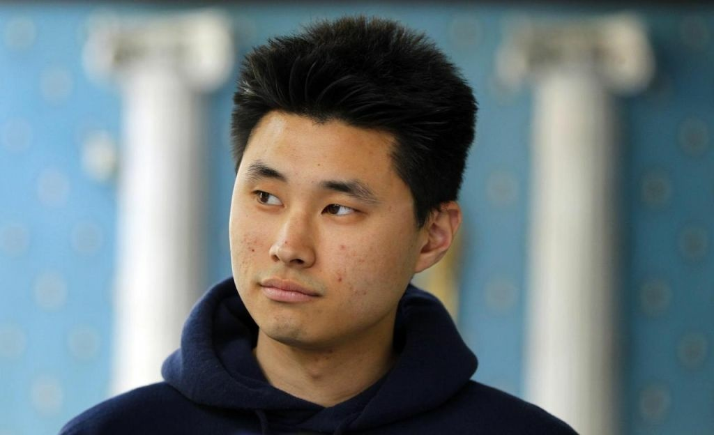 Daniel Chong appears at a news conference where he discussed his detention by the DEA during a news conference on May 1, 2012 in San Diego. Chong, a U.S. college student, was forgotten by federal drug agents and left in a holding cell for five days without food, water or access to a toilet says he drank his own urine to survive.