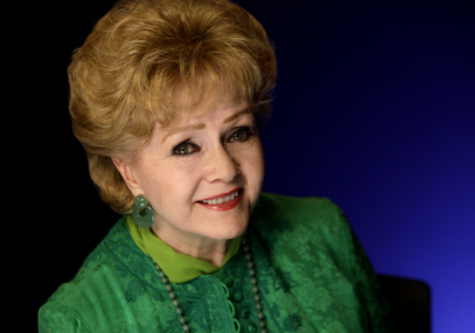 Actress Debbie Reynolds poses for a portrait in New York on Oct. 14, 2011.