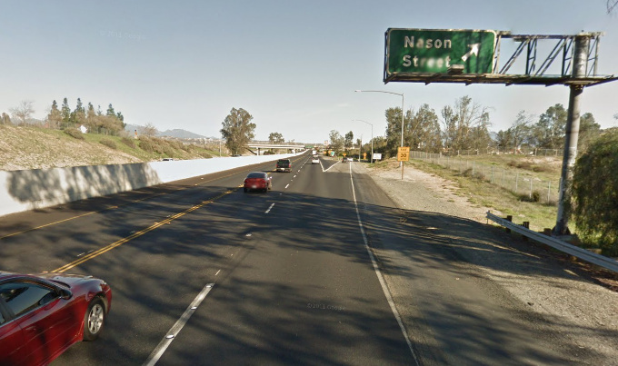 Moreno Valley 60-freeway, Nason Street