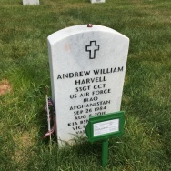 Harvell headstone