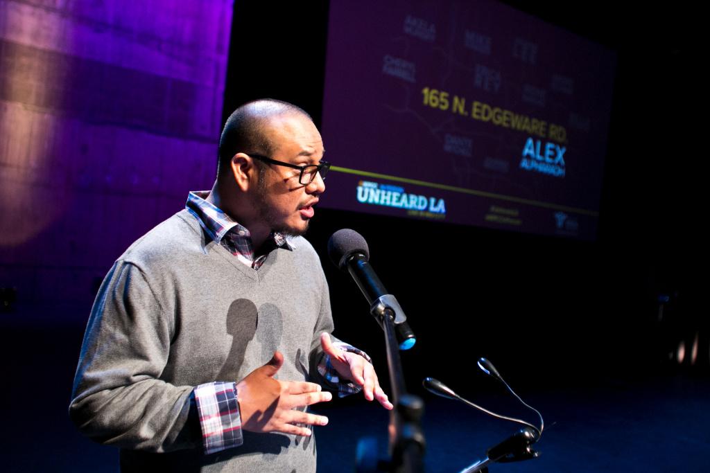 Alex Alpharaoh at KPCC's Unheard L.A.