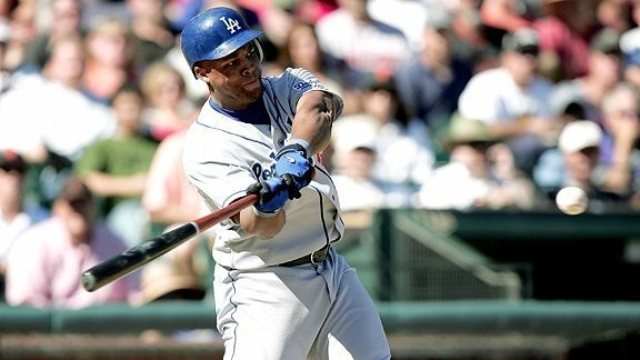File photo of Adrian Beltre when he played for the Dodgers