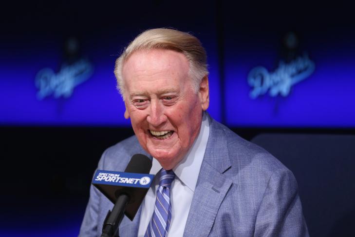 Vin Scully Media Availability