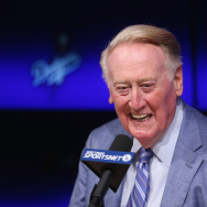 Vin Scully Media Availability