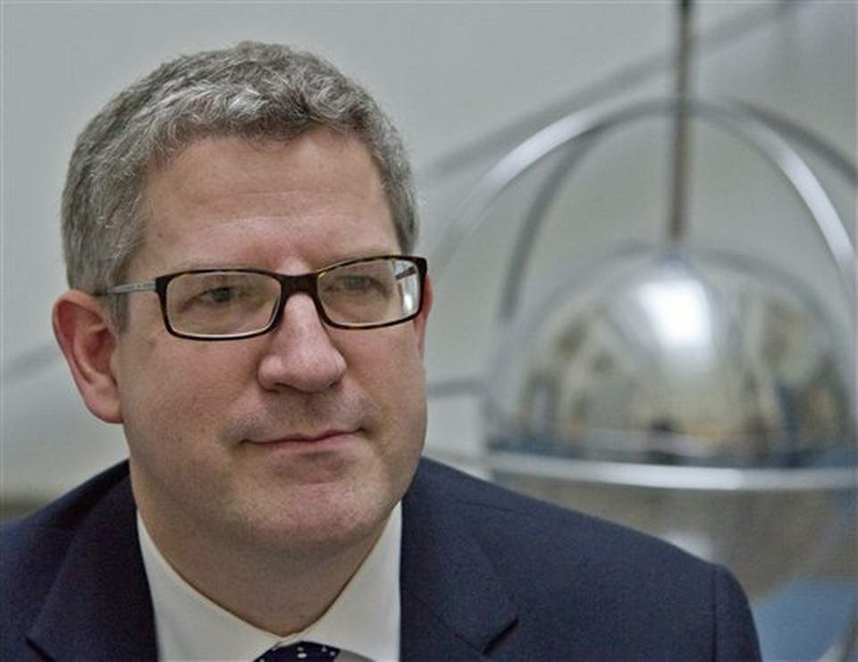 Andrew Parker the Director General of Britain's domestic security service.