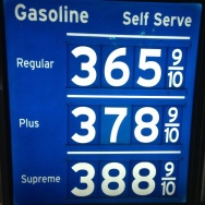Newport Beach gasoline prices