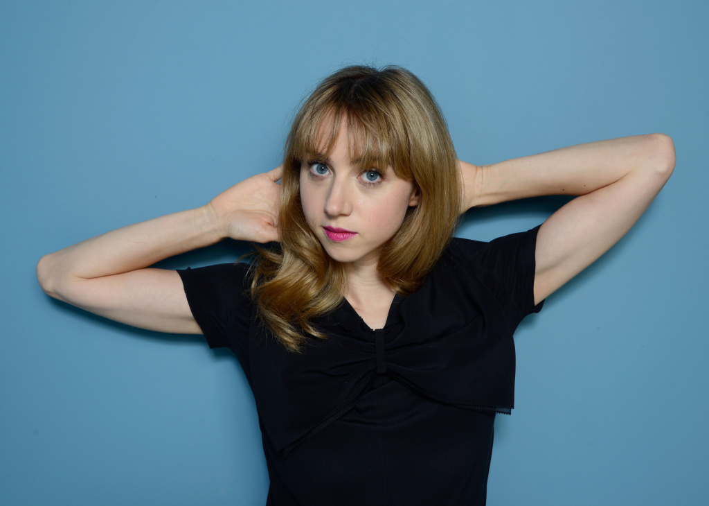 Actress and writer Zoe Kazan.
