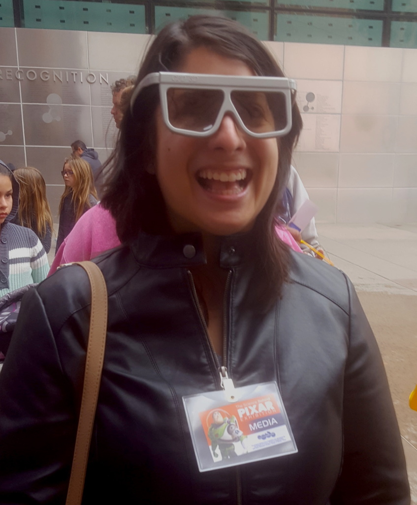 Civil Engineer, Vanessa Paneto at the California Science Center
