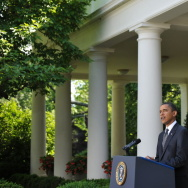 US President Barack Obama speaks on Wall