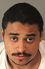 Mugshot of John Felix, the man accused of killing two Palm Springs police officers in a shooting Saturday.