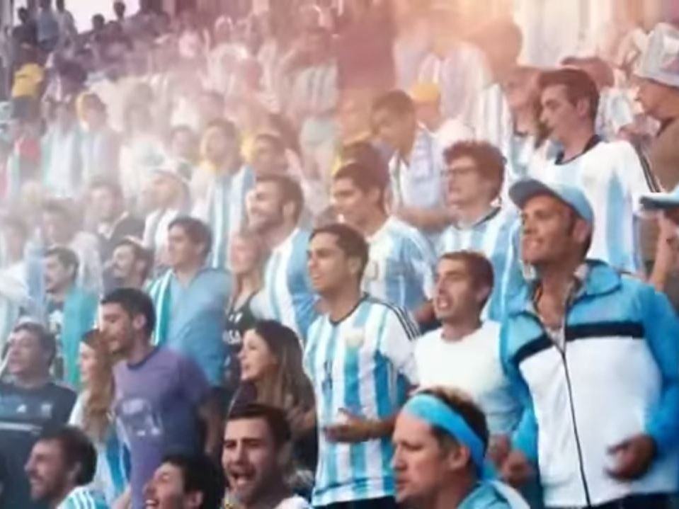 If you want to understand World Cup passion, looking at ads — like this Coca-Cola commercial in Argentina — might give you the best idea.