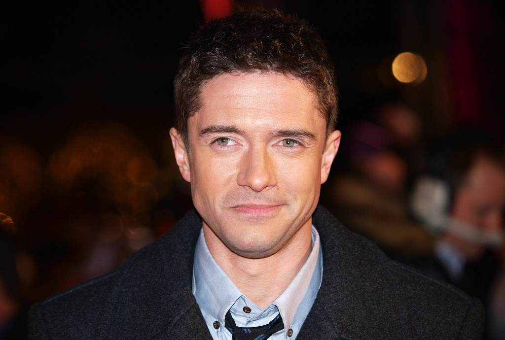 File: Topher Grace arrives for the European Premiere of his latest film 'Valentine's Day' in London's Leicester Square February 11, 2010.