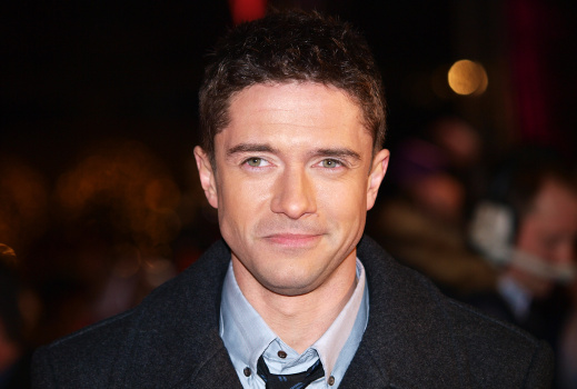 US actor Topher Grace arrives for the Eu