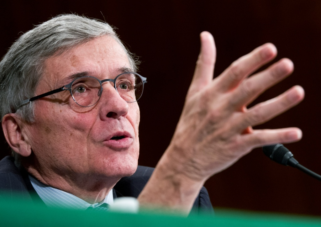 FCC Chairman Tom Wheeler gives testimony before the Financial Services and General Government Subcommittee hearing on 'Review of the President's FY2015 funding request and budget justification for the FCC on March 27, 2014 in Washington.