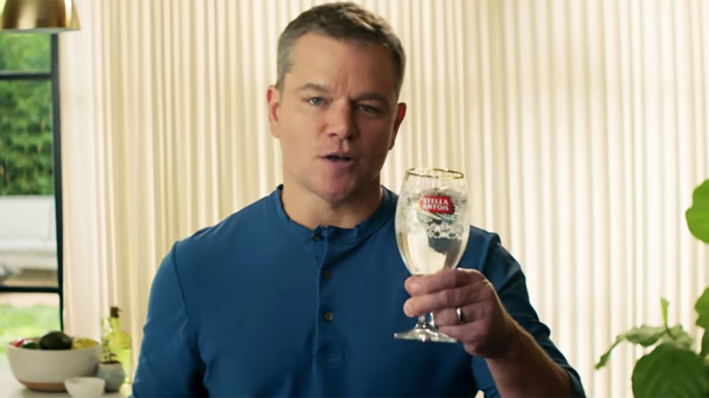 Matt Damon talks about the partnership between Stella Artois and Water.org.