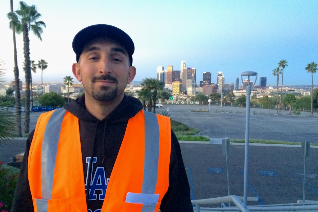 Chaz Perea has been the Landscape Manager at Dodger Stadium since 2009