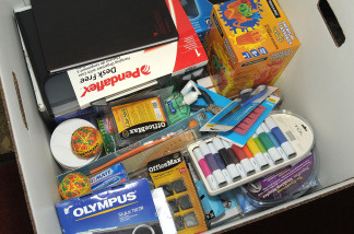 Retail sales figures for back-to-school supplies were down for the month of July.