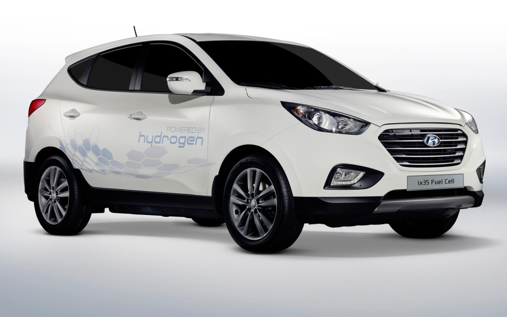 Hyundai's Hydrogen Fuel-Cell Powered Tucson SUV