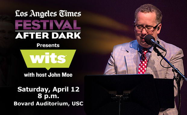 Wits- Los Angeles Times Festival of Books' Festival After Dark