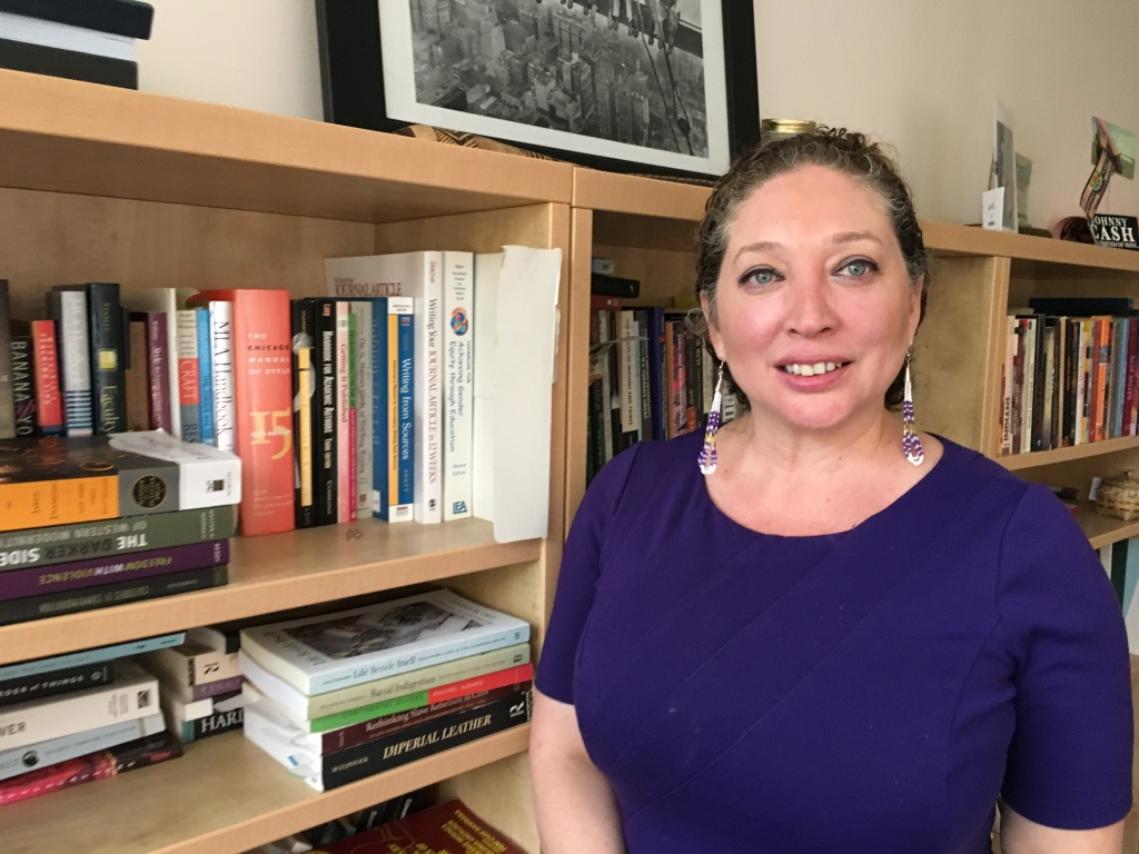 Professor Mishuana Goeman is UCLA's new Special Advisor to the Chancellor on Native American and Indigenous Affairs.