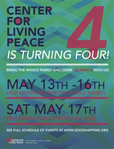 Center for Living Peace- Celebrating Four Years of Living Peace