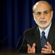 Federal Reserve Chairman Ben Bernake spe