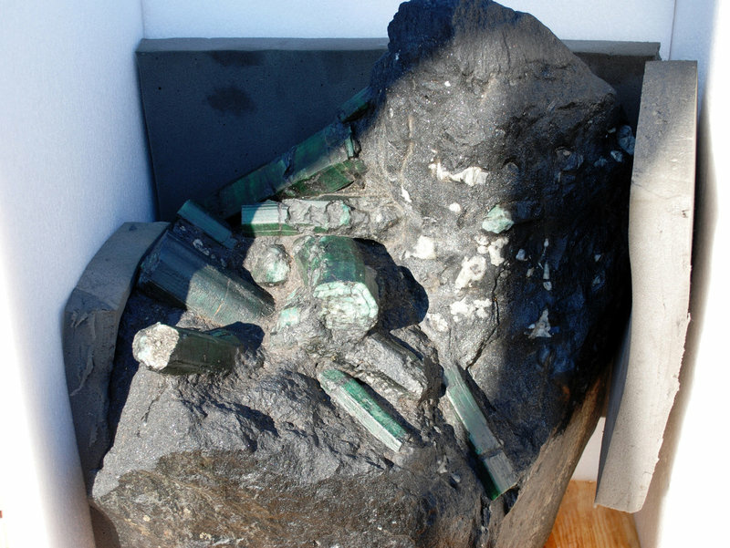 A 2008 file photo of the Bahia Emerald, now in possession by the LA County Sheriff's Department.