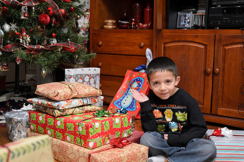 How do you make your kid's holiday wishes come true without going overboard?